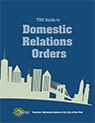 cover image of the TRS Guide to Domestic Relations Orders